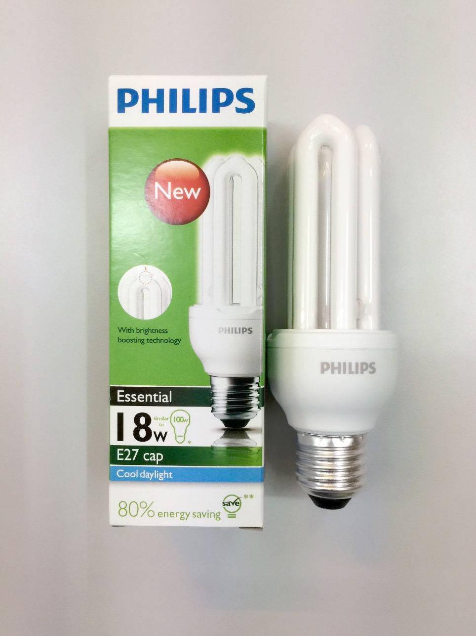 Bong compact Philips 18W