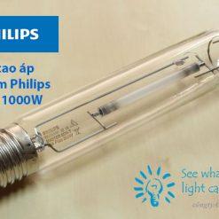 bong den cao ap sodium Philips son-t 1000w