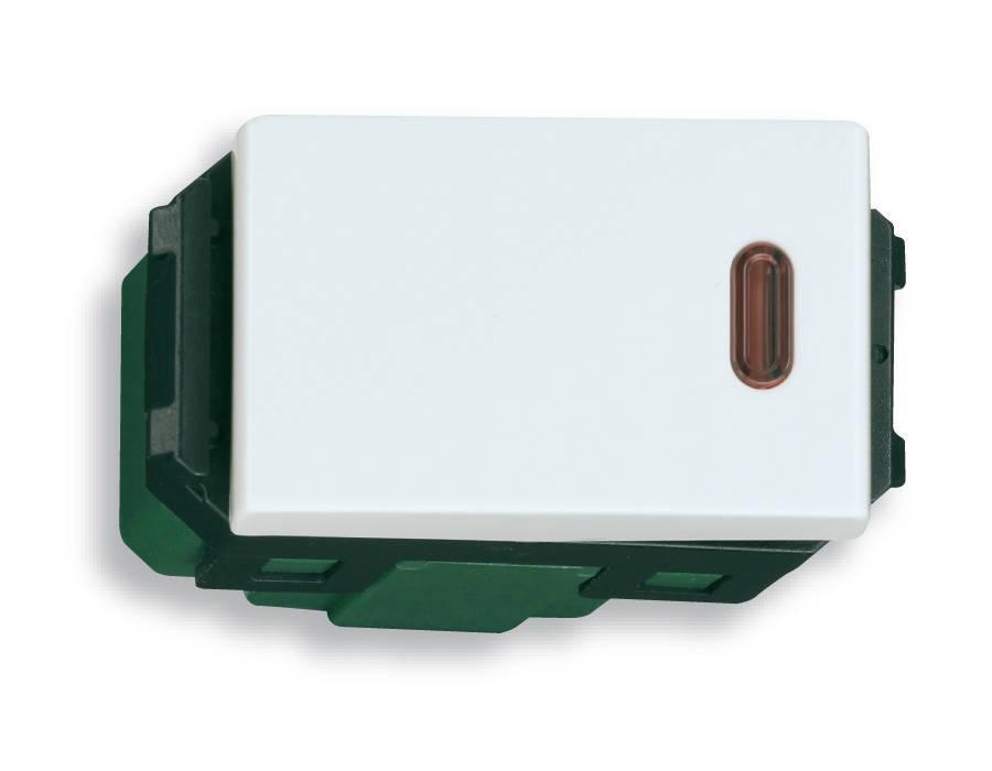 Công tắc đơn Panasonic Wide có đèn báo ON WEG5141