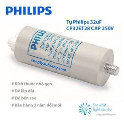 tu Philips 32uF CP32et28 CAP 250V congtyanhsang.com