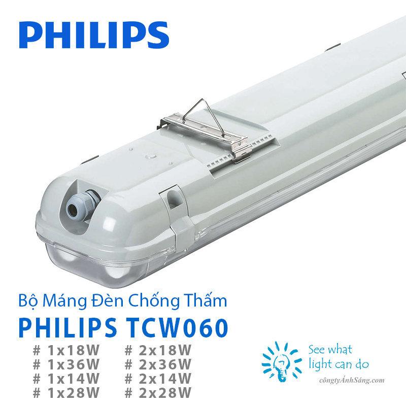 M 225 Ng Đ 232 N Chống Thấm Philips Tcw060 1x28w 1 B 243 Ng T5 1m2