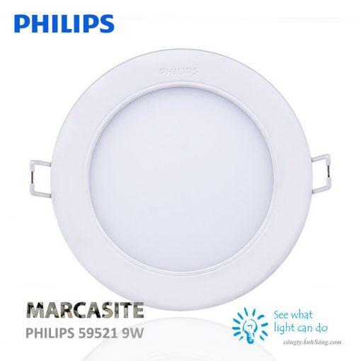 Den am tran PHILIPS 59521 9W 1 www.congtyanhsang.com