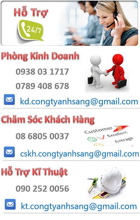 Liên hệ hotline congtyanhsang.com