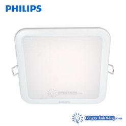 Den am tran LED PHIIPS DN027B LED9 10W VUONG PHILIPS DN027B LED12 14W VUONG SQ SQUARE www.congtyanhsang.com
