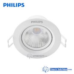 Den am tran LED PHILIPS SL201 2.7W 4.5W D70 chieu diem www.congtyanhsang.com